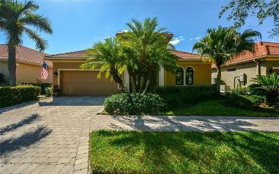 Sarasota Single Family Home For Sale: 5125 Cantabria Crest