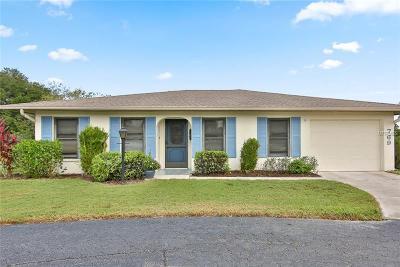 Venice Single Family Home For Sale: 769 Vivienda South Court #10