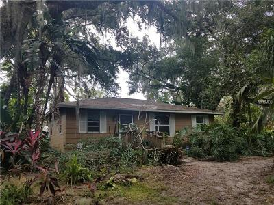 Sarasota Single Family Home For Sale: 1385 38th Street