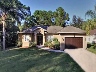 North Port Single Family Home For Sale: 3664 Spinner Avenue