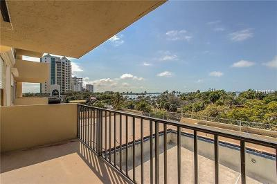 Sarasota Condo For Sale: 101 S Gulfstream Avenue #7J