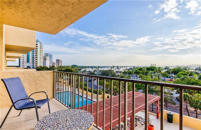 Sarasota Condo For Sale: 101 S Gulfstream Avenue #6J