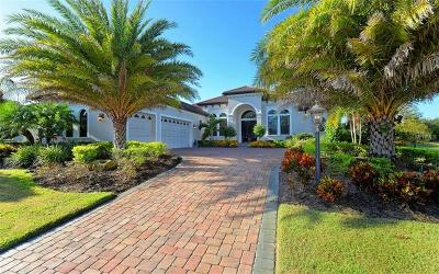 Sarasota, Lakewood Ranch Single Family Home For Sale: 14710 Camargo Place