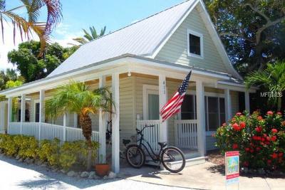 Anna Maria Multi Family Home For Sale: 411 Pine Avenue #A