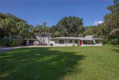 Sarasota Single Family Home For Sale: 2141 Desoto Road