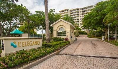 Lido Key Condo For Sale: 1800 Benjamin Franklin Drive #A503