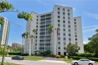 Sarasota Condo For Sale: 435 S Gulfstream Avenue #708