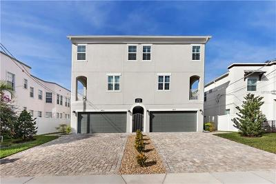 Tampa Townhouse For Sale: 405 S Melville Avenue #1