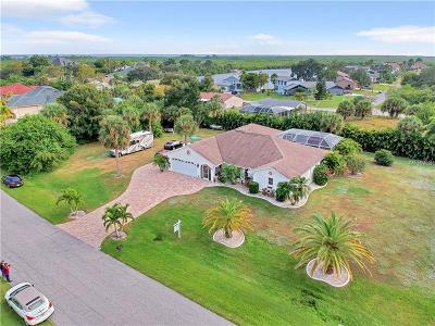 Port Charlotte Single Family Home For Sale: 18861 Lake Worth Boulevard