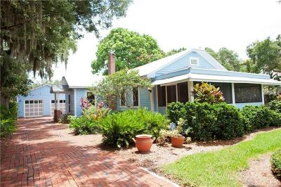 Sarasota Single Family Home For Sale: 1828 Grove Street