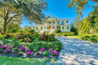 Osprey FL Single Family Home For Sale: $2,790,000