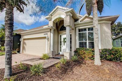 Sarasota County Single Family Home For Sale: 2096 Mattamy Court