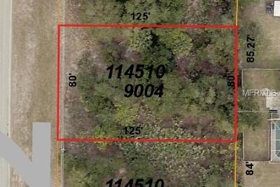 North Port Residential Lots & Land For Sale: Lot 4 Atwater Drive