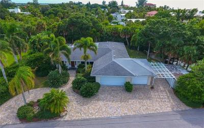Casey Key Single Family Home For Sale: 3804 Cutlass Bayou Lane