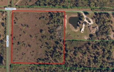 Myakka City Residential Lots & Land For Sale: 25406 73rd Avenue E