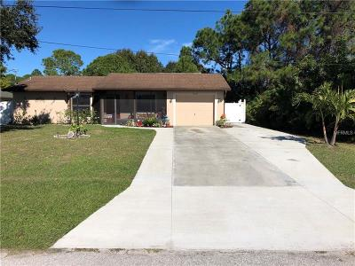 Englewood Single Family Home For Sale: 10218 Topsail
