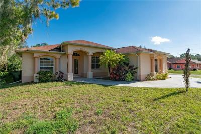 North Port Single Family Home For Sale: 3890 Barbary Lane