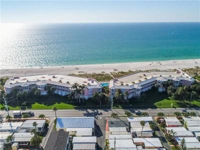 Bradenton Beach Condo For Sale: 2600 Gulf Drive N #42