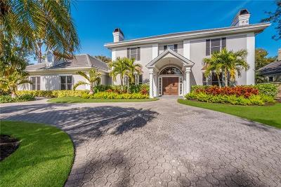 Osprey FL Single Family Home For Sale: $1,390,000