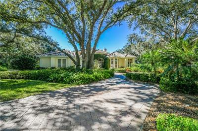 Osprey FL Single Family Home For Sale: $1,175,000