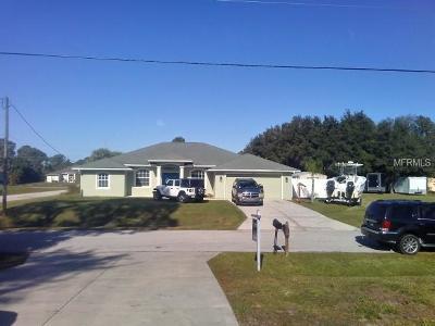 North Port Single Family Home Pending: 3032 Cincinnati Street
