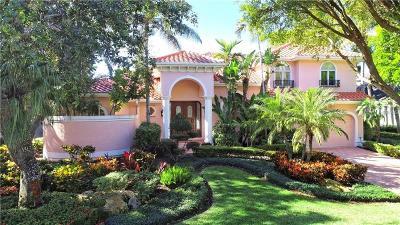 Longboat Key Single Family Home For Sale: 3326 Sabal Cove Lane