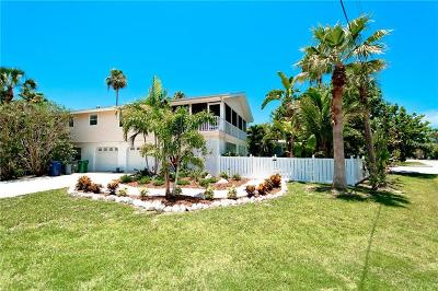 Anna Maria Single Family Home For Sale: 305 Poinsettia Road