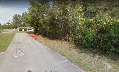 Volusia County Residential Lots & Land For Sale: 634 Sidney Drive