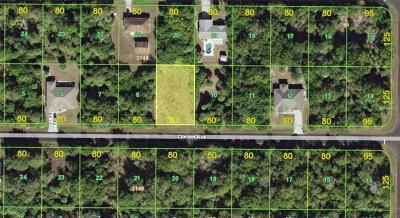 Port Charlotte Residential Lots & Land For Sale: 22074 Clinton Avenue