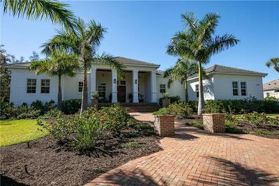 Sarasota FL Single Family Home For Sale: $2,499,000