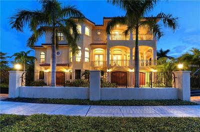 Sarasota FL Single Family Home For Sale: $2,495,000