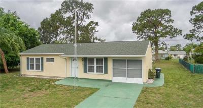 North Port Single Family Home For Sale: 4415 Natchez Terrace