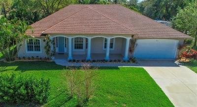 Bradenton Single Family Home For Sale: 425 58th ( Plus 1 Building Lot) Street NW
