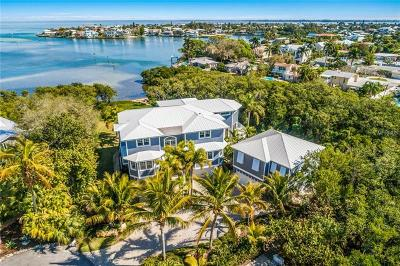 Bradenton Beach, Holmes Beach Single Family Home For Sale: 8027 Marina Isles Lane