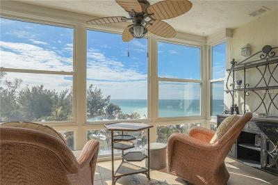 Bradenton Beach, Holmes Beach Condo For Sale: 5200 Gulf Drive #608
