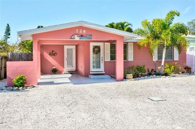 Anna Maria Single Family Home For Sale: 726 Holly Road