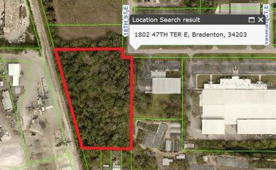 Collier County, Lee County, Hendry County, Charlotte County, Desoto County, Glades County, Sarasota County, Manatee County Residential Lots & Land For Sale: 1802 47th Terrace E
