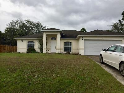 North Port Single Family Home For Sale