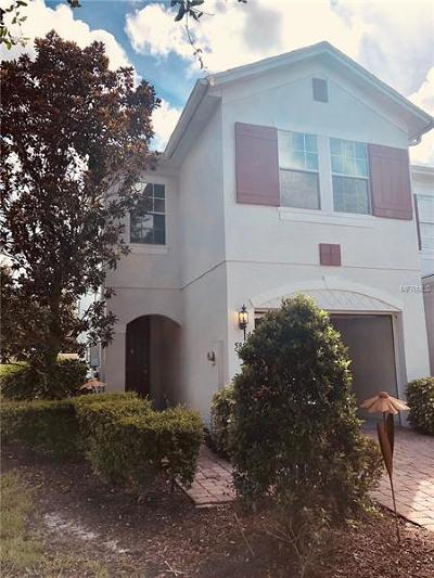 Apopka, Christmas, Eatonville, Maitland, Winter Park, Zellwood, Orlando, Pine Hills, Belle Isle, Edgewood, Gotha, Oakland, Windermere, Winter Garden Townhouse For Sale: 5859 Strada Capri Way