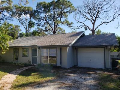 Venice FL Single Family Home For Sale: $174,900