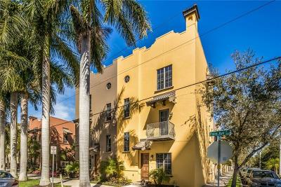 Sarasota Townhouse For Sale: 563 S Palm Avenue #21