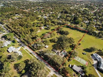 Sarasota Single Family Home For Sale: 4939 Bliss Road