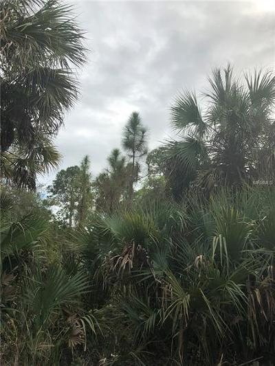North Port Residential Lots & Land For Sale: Donahue Avenue