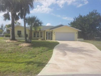 Port Charlotte Single Family Home For Sale: 10541 Washington Road
