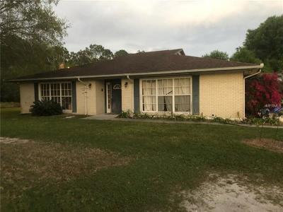 Okeechobee County Single Family Home For Sale: 142 SW 72nd Terrace