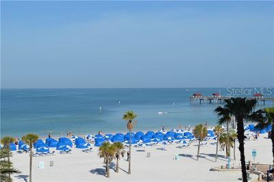 Clearwater, Clearwater Beach Condo For Sale: 301 S Gulfview Boulevard #402