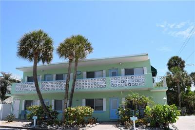 Bradenton Beach Multi Family Home For Sale: 101 25th Street N #1