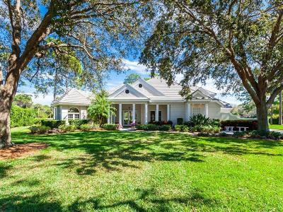 Osprey Single Family Home For Sale: 53 Fairway Oaks Lane