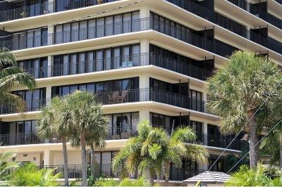 Treasure Island, St Pete Beach Condo For Sale: 7600 Bayshore Drive #406