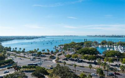 Sarasota Condo For Sale: 101 S Gulfstream Avenue #15F
